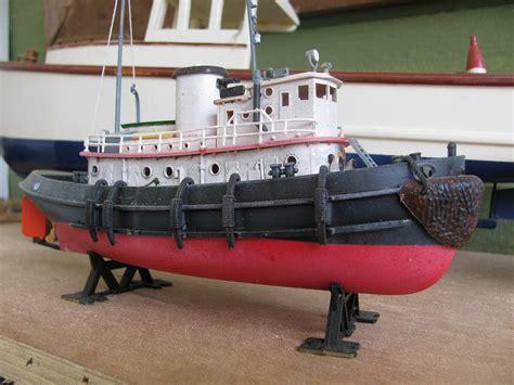 model boat kits harbour tug boat plastic model kit in 1 108 scale http