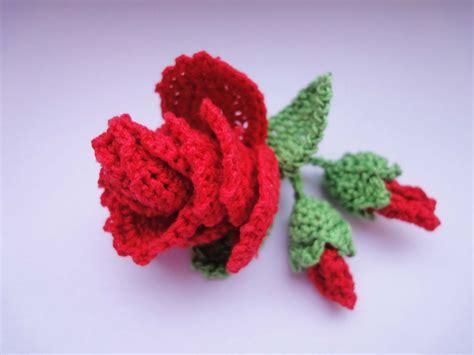 crochet pattern flower youtube роза с бутонами rose and flower buds crochet youtube
