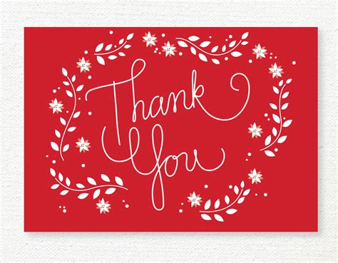 merry thank you card template thank you quotes quotesgram