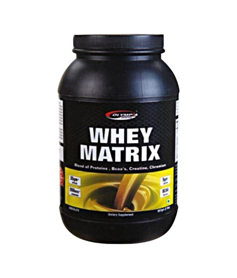 Whey Matrix Olympia Whey Matrix 1kg Chocolate Buy Proteins Sports
