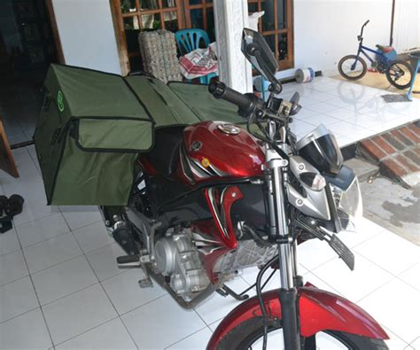 Tas Motor Padang jual tas obrok pak pos murah suryaguna distributor