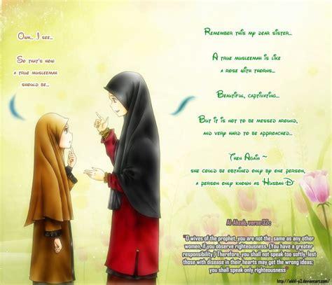 Anime Jilbab Syar I muslimah forum syiar islam fakultas ekologi manusia ipb