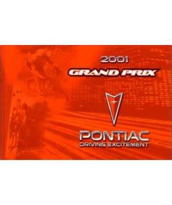 2001 pontiac grand am owners manual owners manual 2001 pontiac grandam