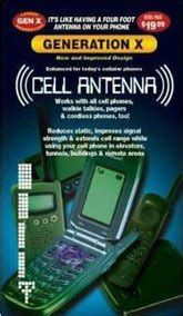 universal generation x cell phone antenna booster signal enhancer cell phones