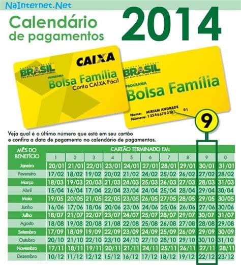 Calendario Bolsa Familia 2014 Nainternet Net Calend 225 Bolsa Fam 237 Lia 2014