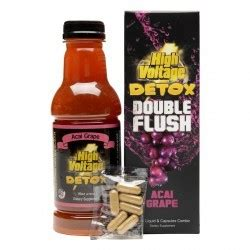 Acai Cleanse 48 Hour Detox Walmart by High Voltage Flush Detox Acai Grape 16oz Liquid