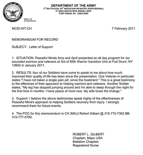 air force recommendation letter sle lt col kaiser