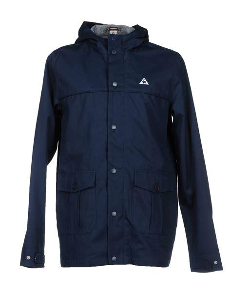 Le Coq Sportif Jacke by Le Coq Sportif Jacket In Blue For Blue Lyst