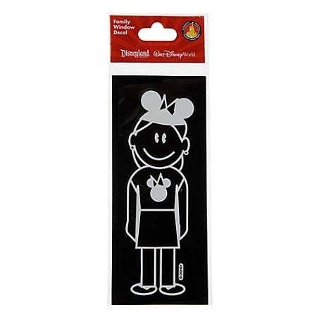 Window Decals Disney by Disney Window Decal Mom With Mickey Mouse Ear Hat