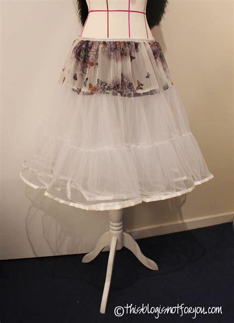 easy petticoat tutorial sewing projects burdastylecom