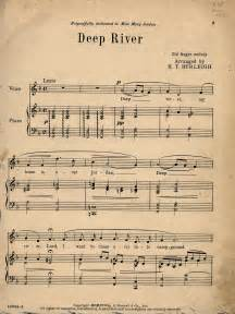 File deep river sheet music page one jpg wikimedia commons