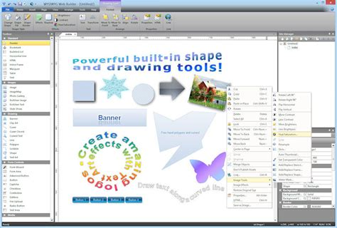 html editor website builder web design software wysiwyg web builder