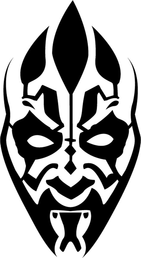 darth maul paint template darth maul by zanza00 on deviantart