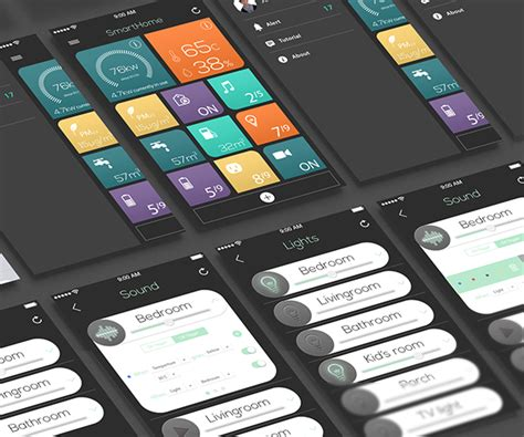ios home automation on wacom gallery