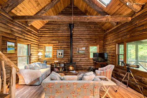 Log Cabin Rentals by Lakefront Log Cabin Rental In Adirondack Park