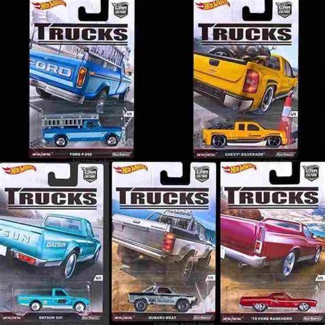 Box Kotak Hotwheels By Toys wheels car culture series 2016 dash c trucks damage