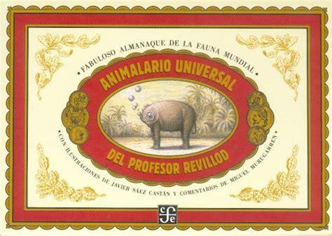 libro animalario la coleccionista animalario universal del profesor revillod