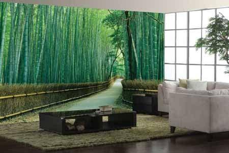 Wallpaper Wall Paper Dinding Motif Batang Bambu A wallpaper dinding ruang tamu motif hutan bambu wallpaper dinding motif hutan