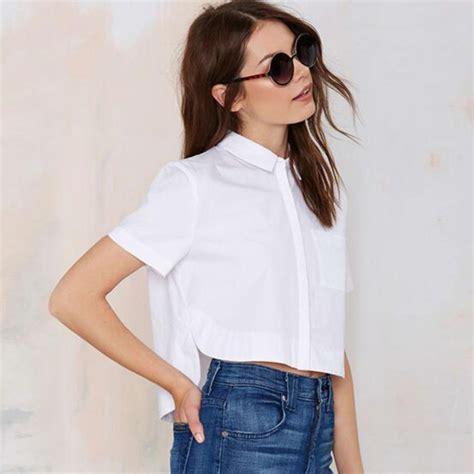 Top Blouse white shirt top is shirt