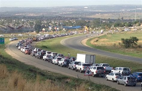 heavy easter traffic expected on n3 as motorists return