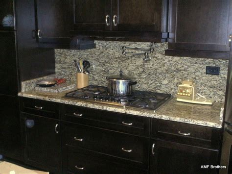 santa cecilia backsplash ideas santa cecilia with backsplash contemporary kitchen countertops chicago by amf
