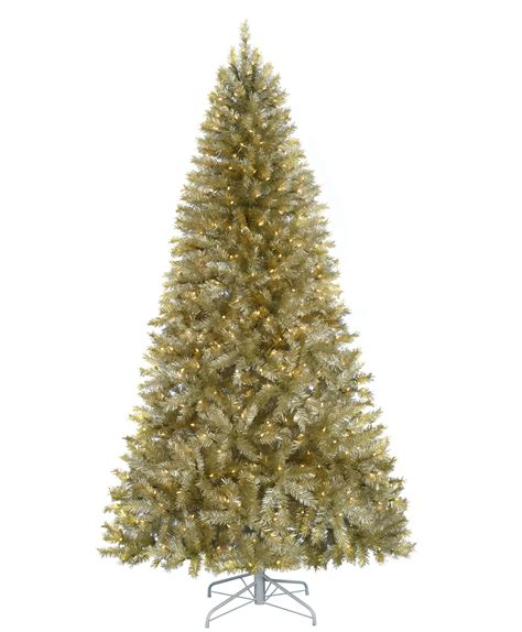 platinum and gold artificial christmas tree tree classics