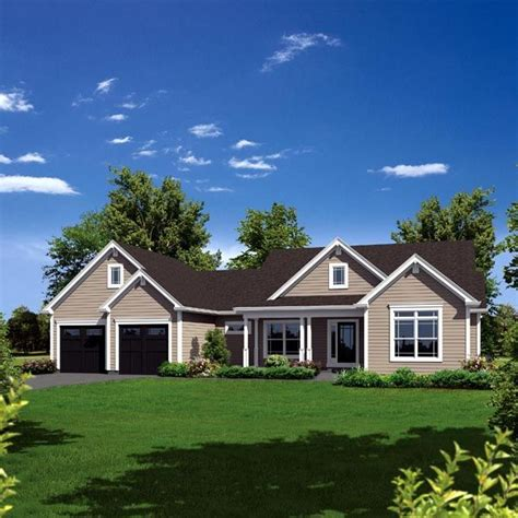 country ranch house plans pinterest