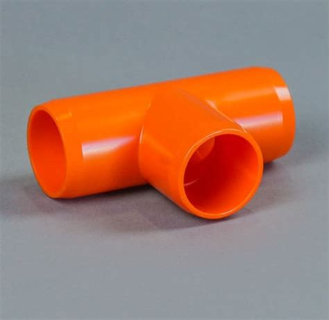1/2″ tee furniture grade pvc fitting c and s plastics