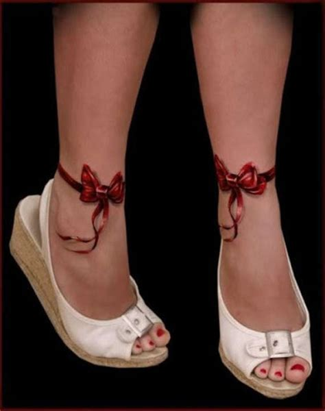 81 adorable ankle tattoos designs for girls