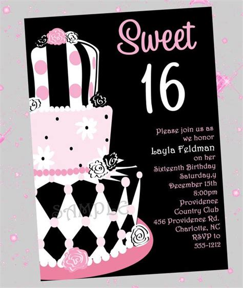 quot sweet surprises quot birthday printable card blue 17 best images about sweet 16 on pinterest mac duggal