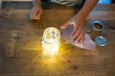 how to make jar lights with lights how to make jar lights jar crafts