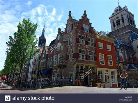 buy a house in holland netherlands holland delft streets and gabled houses in the old stock photo royalty