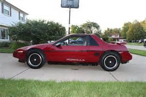 1988 Pontiac Fiero For Sale 1988 Pontiac Fiero Pictures Cargurus