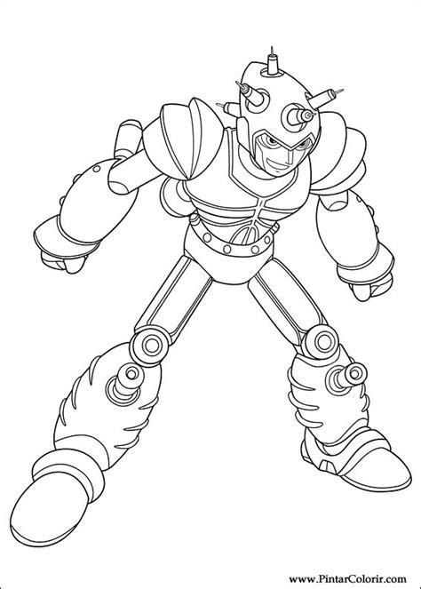 Desenhos Para Pintar e Colorir Astro Boy - Imprimir