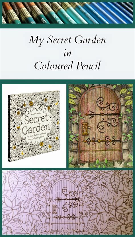 secret garden colouring book buy for pencils my secret garden colouring book part 1