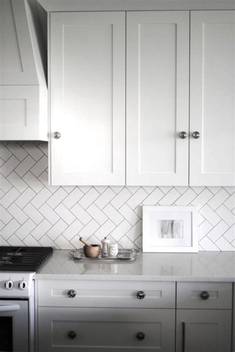 white subway tile backsplash ideas vida design