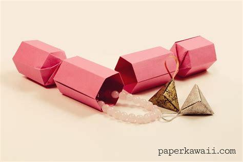 Origami Crackers - origami cracker tutorial