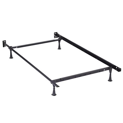 metal bed frame twin twin full metal bed frame the land of nod