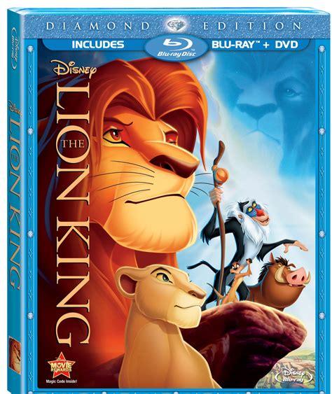 film lion dvd the lion king bluray dvd diamond edition giveaway
