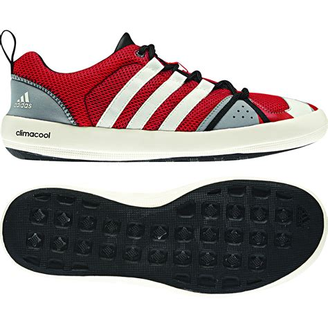 Adidas Bot High Class by Adidas Climacool Boat Lace Shoes G64606 Team One Newport