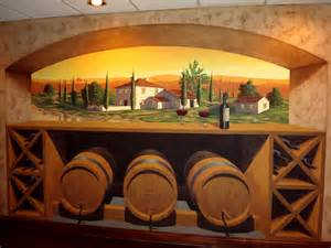 tuscan wallpaper murals www galleryhip com the hippest tuscany wine room mural mediterranean wine cellar