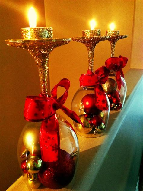 sparkle light christmas glasses best 25 wine glass crafts ideas on wine glass candle holder glass candle and diy