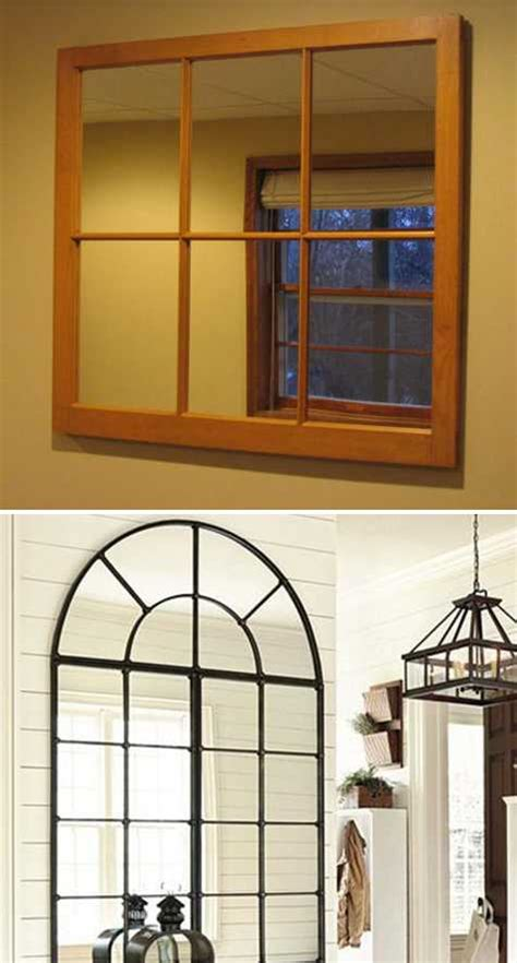Ideas Design For Arched Window Mirror Modern Window Mirror Designs Bringing Nostalgic Trends Into Home Decorating