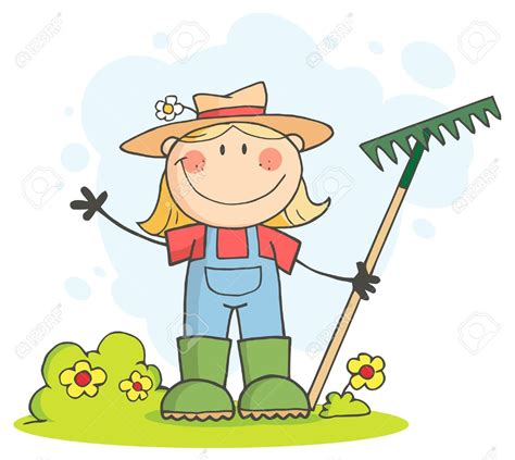 gardening pictures clip peasant clip 16