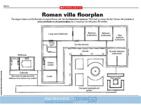 Ancient Roman Villa Floor Plan ancient roman house layout mexzhouse com