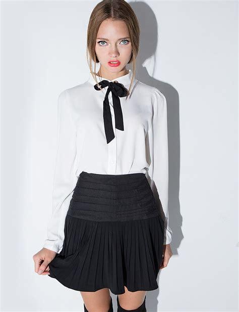 blouse korean fashion korean style ootd pixie market