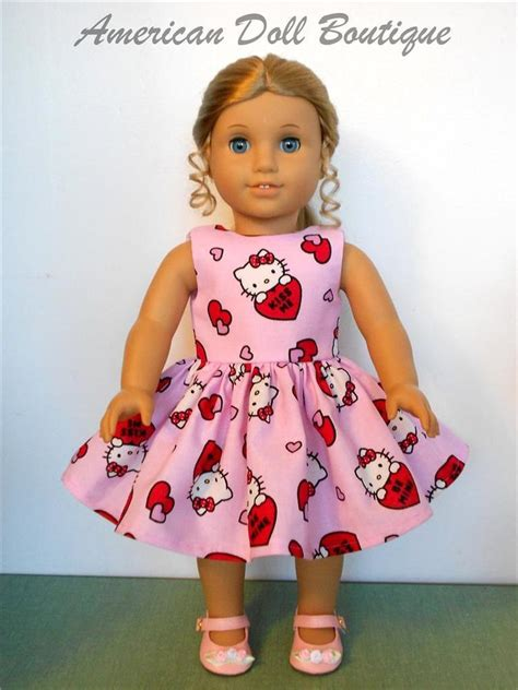 American Handmade Doll Clothes - fits 18 quot american doll clothes handmade hello