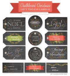free chalkboard christmas gift labels amp tags worldlabel blog