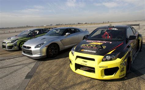 scion gtr nissan gt r vs scion drift tcs we pit godzilla against a