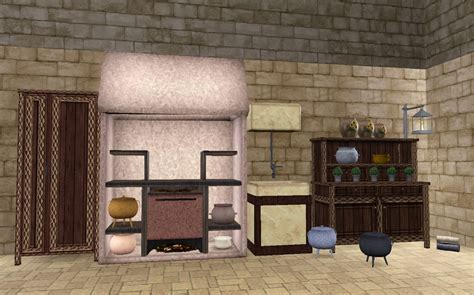 Kids Kitchen Furniture mod the sims the medieval kitchen part 1 ye olde